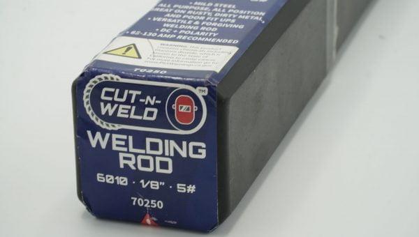"E6010 1/8"" Welding Rod 5#"